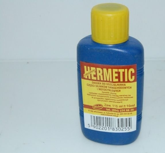 Lepidlo na motory Hermetik 115ml